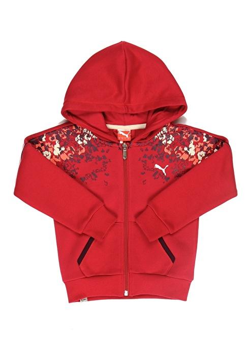 Puma Td Hood Sweat Jacket Renkli